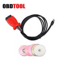 2019 Low Price Diagnostic Cable JLR V145 SDD Cable for Volv VIDA for Toyota TIS Techstream 3 In 1 Car Scanner Reprogramming