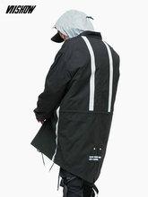VIISHOW уличная мужская зимняя куртка брендовая мужская парка 2018 зимняя мужская куртка Manteau Homme Hiver зимнее пальто для мужчин MC2310184