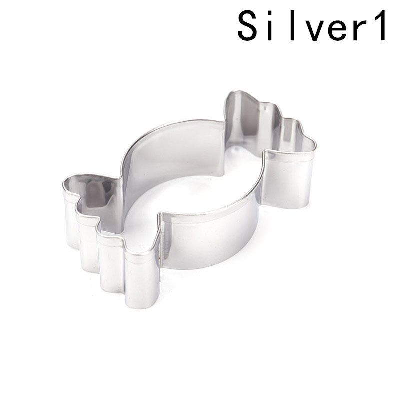 1PC Stainless Steel Candy Shape Cookie Cutter Biscuit Cake Baking Mold Mould Tool For Kids Kitchen Tools