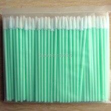 100 adet/paket-temiz oda esd sünger swablar nokta ucu temizleme