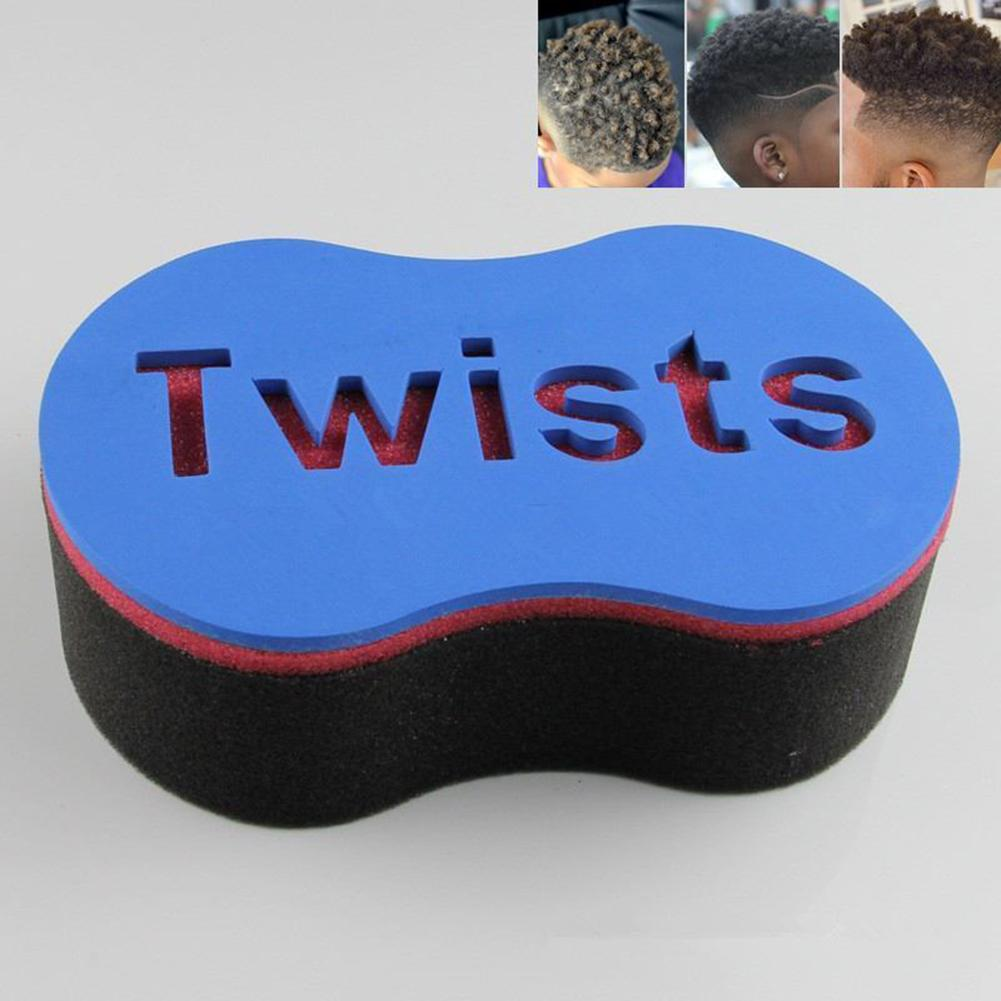 New Men Double Wave Magic Hair Twist Sponge Brush Dreadlocks Curly Brush Sponge