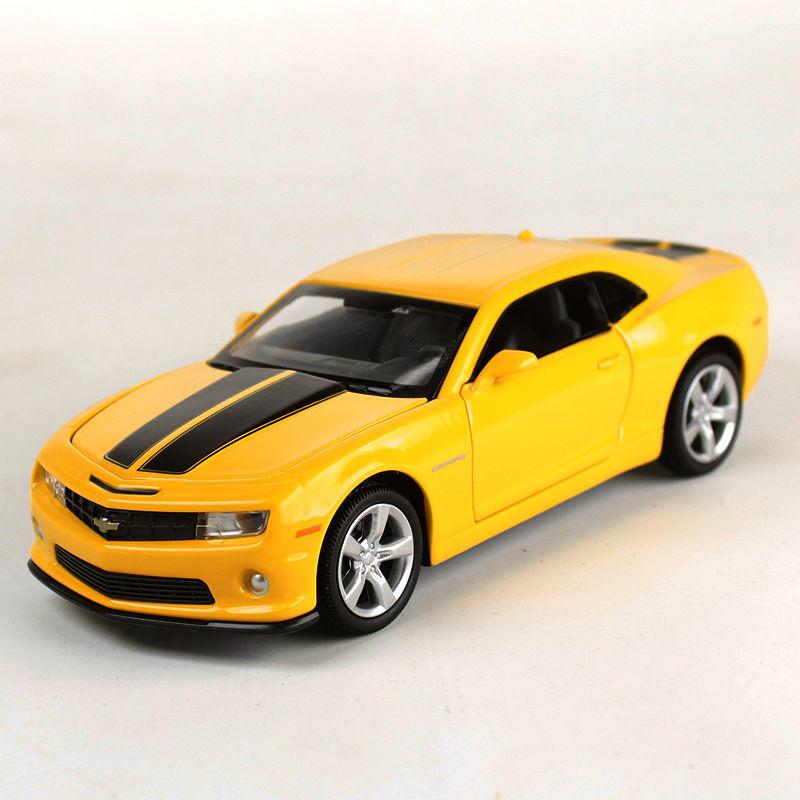 1 32 Chevrolet Camaro Bumblebee Diecast Vehicle Car Model Toys Gift