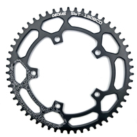 DECKAS Round 130BCD 50T/52T/54T/56T/58T Cycling Chainring MTB Bike Chainwheel Crankset Plate BCD 130mm tooth plate free shipping