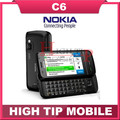 FREE SHIPPING ORIGINAL Nokia brand C6 Unlocked 5MP Touchscreen Support Russian Hebrew Polish menu Cell Phone Refurbished