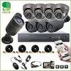 8CH 960H DVR 8PCS 1200TVL Outdoor Weatherproof CCTV Camera Home Security Camera System 8CH DVR Kit