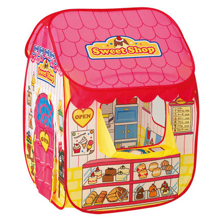 ФОТО Sweet candy house Portable game house children's tent The princess ocean ball pool Baby toys foldable baby children's toy tent