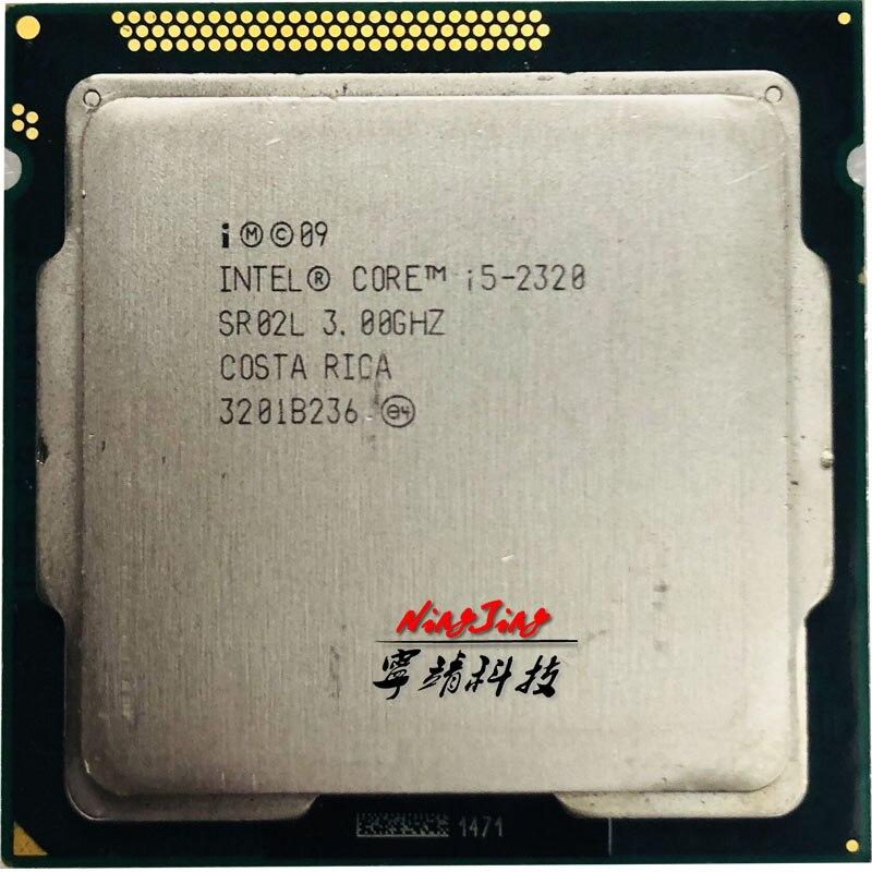 Intel Core i5 2320 i5 2320 3 0 GHz Quad Core CPU Processor 6M 95W LGA