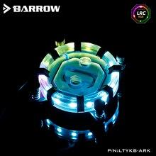 Barrow CPU cooler for Intel socket LGA 115x (1150 1151 1155 1156) water cooling block processor water cooler block LTYKB-ARK 4 heatpipe cpu cooler heat sink for intel lga 1150 1151 1155 775 1156 new