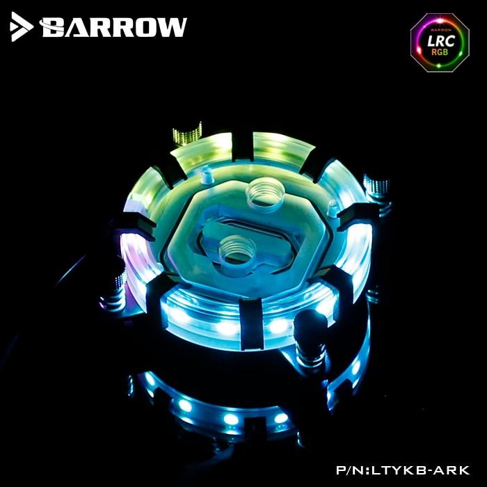 Barrow LTYKB-ARK CPU cooler for Intel socket LGA 115x (1150 1151 1155 1156) watercooling block processor water cooler block barrow ltfhb 02 rgb cpu water cooling cpu block for intel 1150 1151 1155 1156