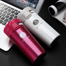 K2 HOME 350ml Stainless Steel Mug Vacuum Bottle Hot Travel Bottle Mug Heat Insulation Cup Leakproof Thermos Fashion Travel Mug