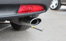 2* Stainless Steel Exhaust Pipe Muffler Tip Exhaust pipe cover for Car styling For Honda CRV 2.0L 2012 2013 2014 2015