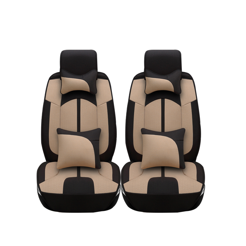 Linen car seat covers For Ssangyong Rodius ActYon Rexton Korando Tivolan XLV car accessories styling