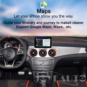 Image 3 - Joyeauto אלחוטי Carplay אנדרואיד אוטומטי עבור מרצדס GLS NTG5 Retrofit תמיכה אחורי מצלמה דינמי הנחיות רכב לשחק מתאם