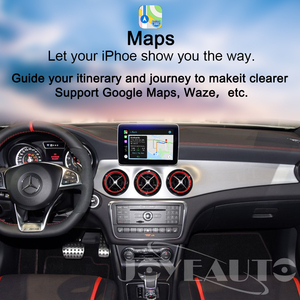 Image 3 - Joyeauto Wireless Carplay Android Auto for Mercedes GLS NTG5 Retrofit Support Rear Camera Dynamic Guidelines Car Play Adapter