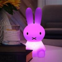 H28CM RGB Led Rabbit Night Light USB For Children Baby Kids Gift Animal Cartoon Decorative Lamp