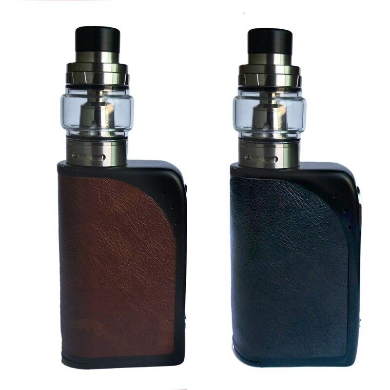 200 w vape corps en cuir avec batterie 3000 mAh boîte à cigarettes électronique mod 510 fil Kit de démarrage Vape Kit stylo électronique Vape
