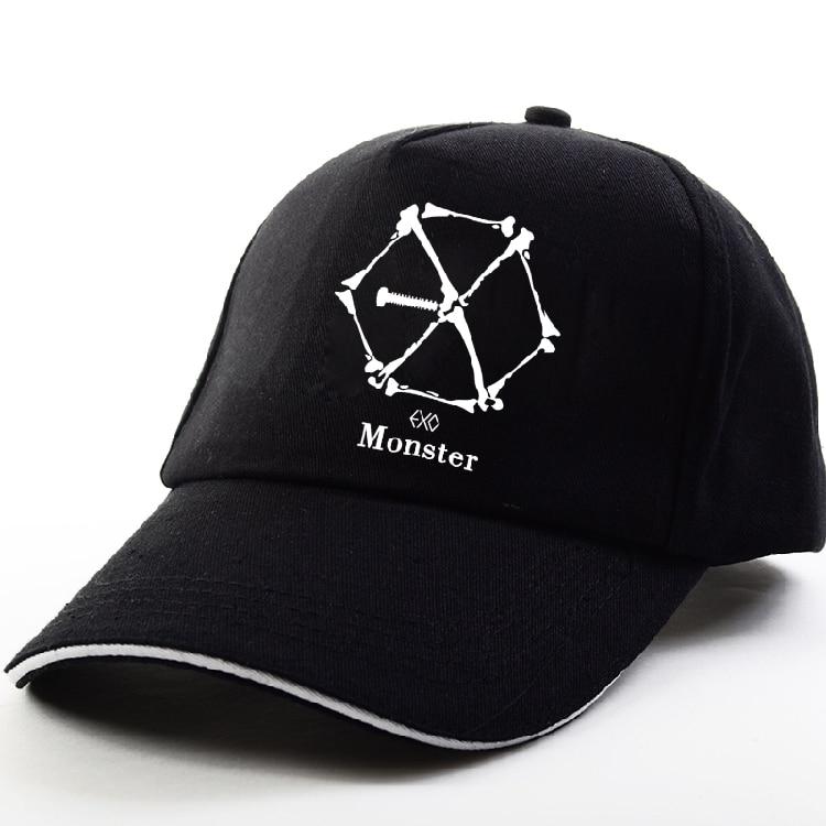 Kpop EXO EX LOI officielle Album smusic stlye de mode parasol cap harajuku hip hop chapeau cap Lay Baekhyun Chanyeol Sehun Suho