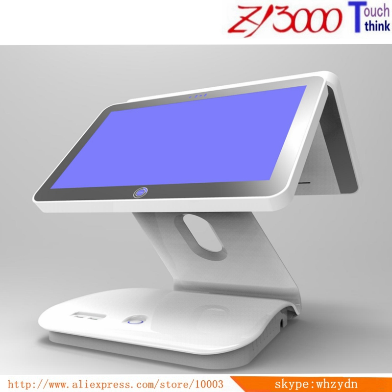 Sale New 15.6 Inch Double Screen  All In One Touch Screen Pos Terminals / Pos System