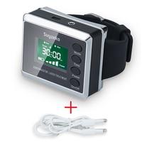 CE ТВ 650nm лазерная терапия наручные Диод Нили для диабет лечения гипертонии часы лазера синусит терапевтический аппарат Новый