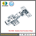 304 stainless steel clip-on base soft closing cabinet hinge