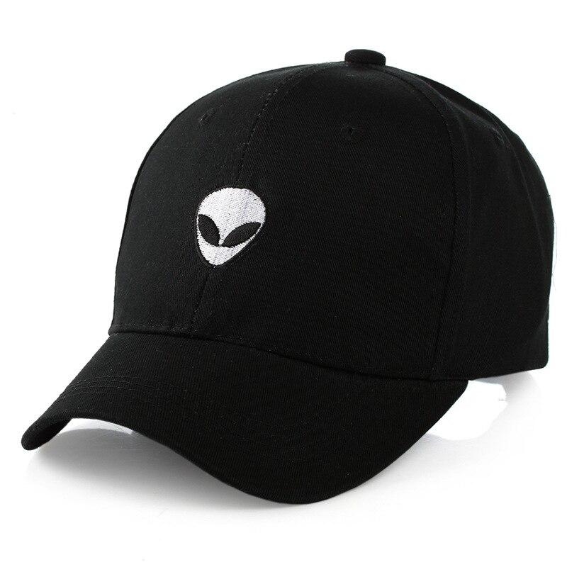 57abcf57c 2018 New Damn Alien Embroidery Baseball Cap Cotton Adjustable ...