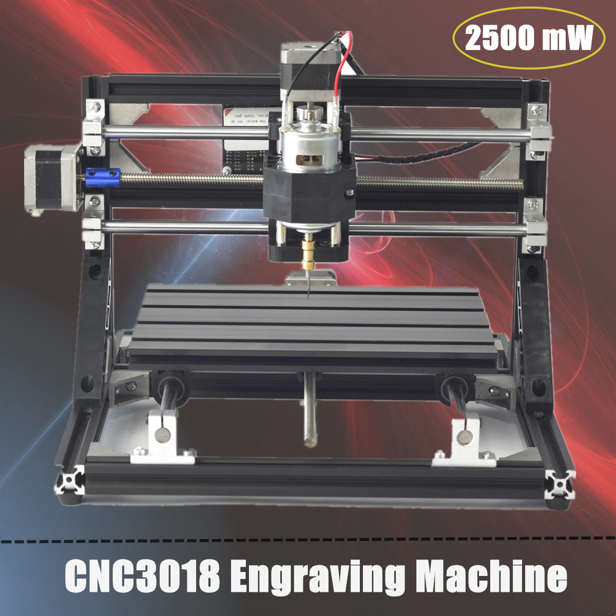 110V -240V CNC 3018 Engraving Machine Wood Router Woodworking Machinery Carving Machine Or With 5500mW Laser Head Self Assembly