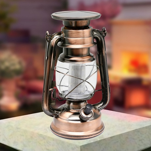 Classic European Solar Powered LED L& Kerosene L& Shape Hanging Retro Wall L& Outdoor Waterproof L& & Classic European Solar Powered LED Lamp Kerosene Lamp Shape Hanging ...