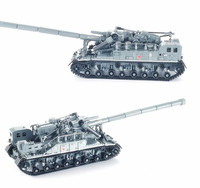 1832 PCS Army Tank MOC Military World War 2 the T92 Tank Legoinglys Technic Weapons Model Building Blocks Bricks Toys Gifts