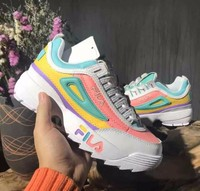 Filas Disruptor Ii 2 Women Sneaker Running Shoes White Summer Increased Outdoor Sneaker Size 36 40