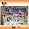 Bobcat экскаватор двигатель восстановленная прокладка V3600 V3600T полный комплект прокладок/комплект прокладок головки цилиндра