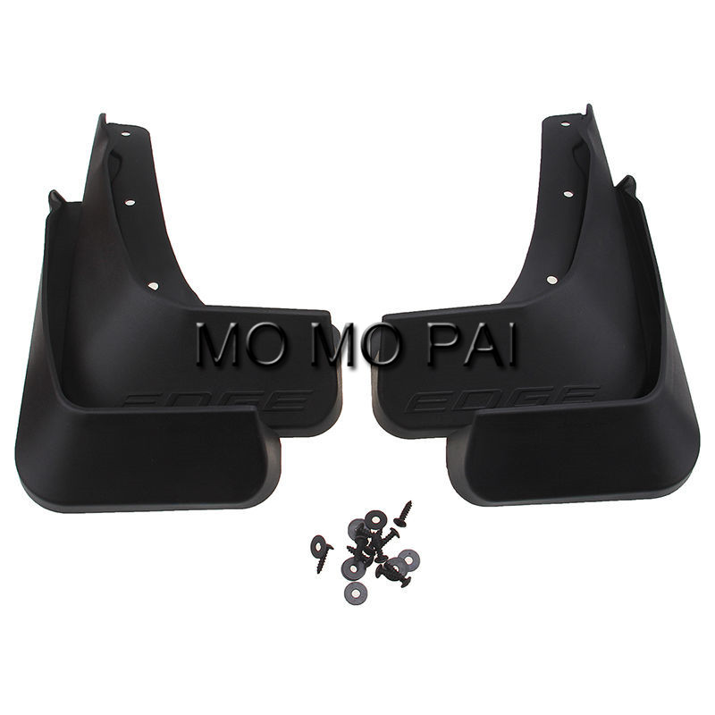 Hot Car Molded Mud Flaps Splash Guards Mudguards Fit For  For Ford Edge  Pcs Set Mo Mo Pai