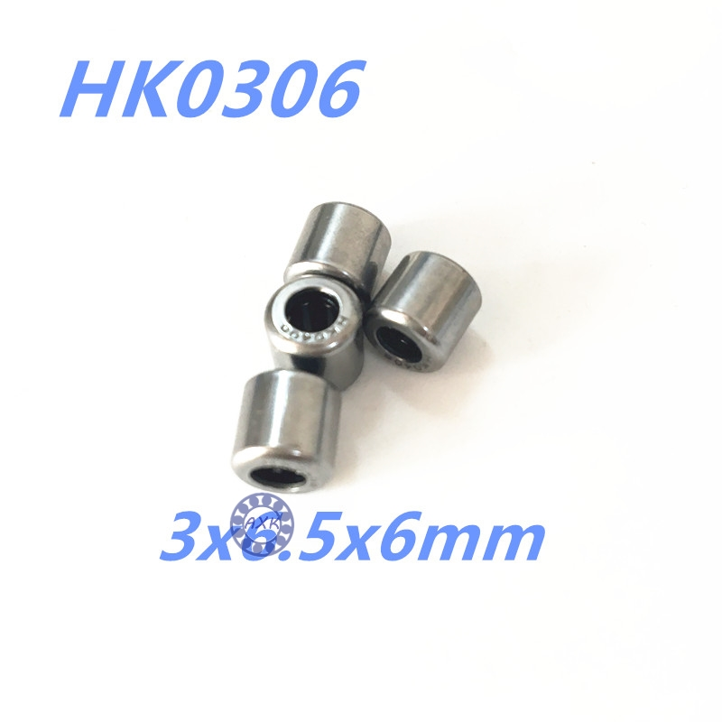 HK0306 Needle Roller Bearing 3mmx6.5mmx6mm 3x6.5x6 mm HK0306TN for 3mm shaft 100pcs box zhongyan taihe acupuncture needle disposable needle beauty massage needle with tube