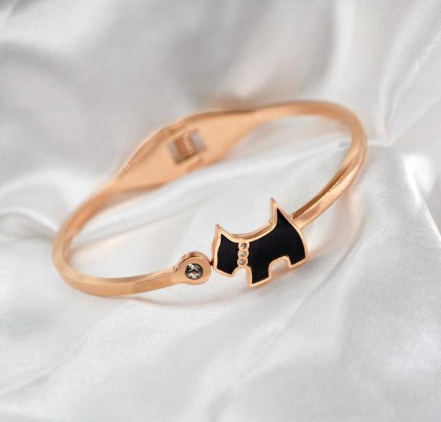 Dog Bangle Gift Jewelry...