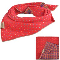 10PC Lot Pet Dog Cat Puppy Bandana Bib Triangle Head Scarf Collar Accessories Embroidery Neckerchief For