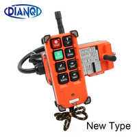 Industrial remote controller 1 transmitter + 1 receiver AC220V 110V 380V DC12V 24V wireless orange arrow model 315 868Mhz