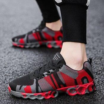 JNNGRIOR Outdoor Men Casual Shoes Anti-Slip Walking Shoes Men Lace Up Tenis Sneakers Men Shoes Big Size 46 Man's Footwear Male