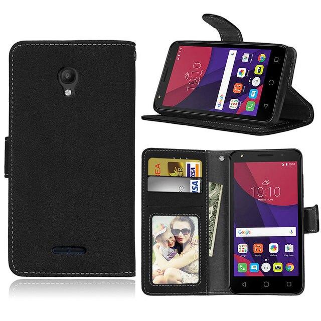 sports shoes c33f0 a1657 US $6.99 |Matte Leather Case For Alcatel one touch Pop Star 5022D 3G Retro  Phone case Flip Cover Case for Alcatel Pop Star Cases Luxury-in Flip Cases  ...