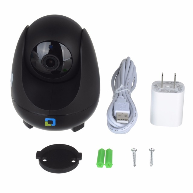 Home Security Night Vision Water-Resistant Wi-Fi Surveillance Camera
