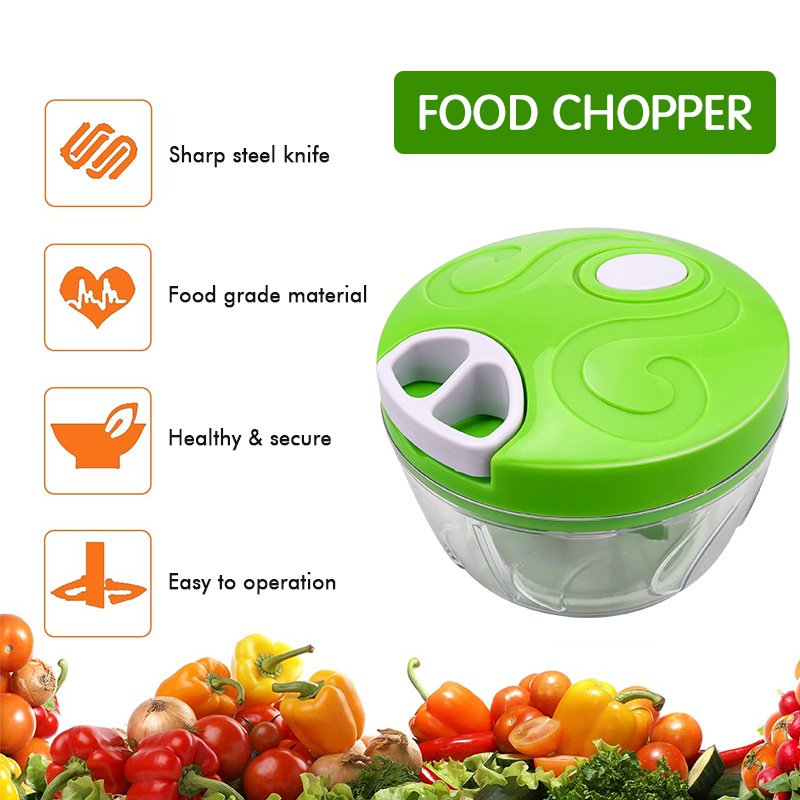 Manual Vegetable Grinder Meat Shred Garlic Chopper Tools Hand Pull Food Slicer Nut Onion Cutter Portable Kitchen Gadgets Mincer
