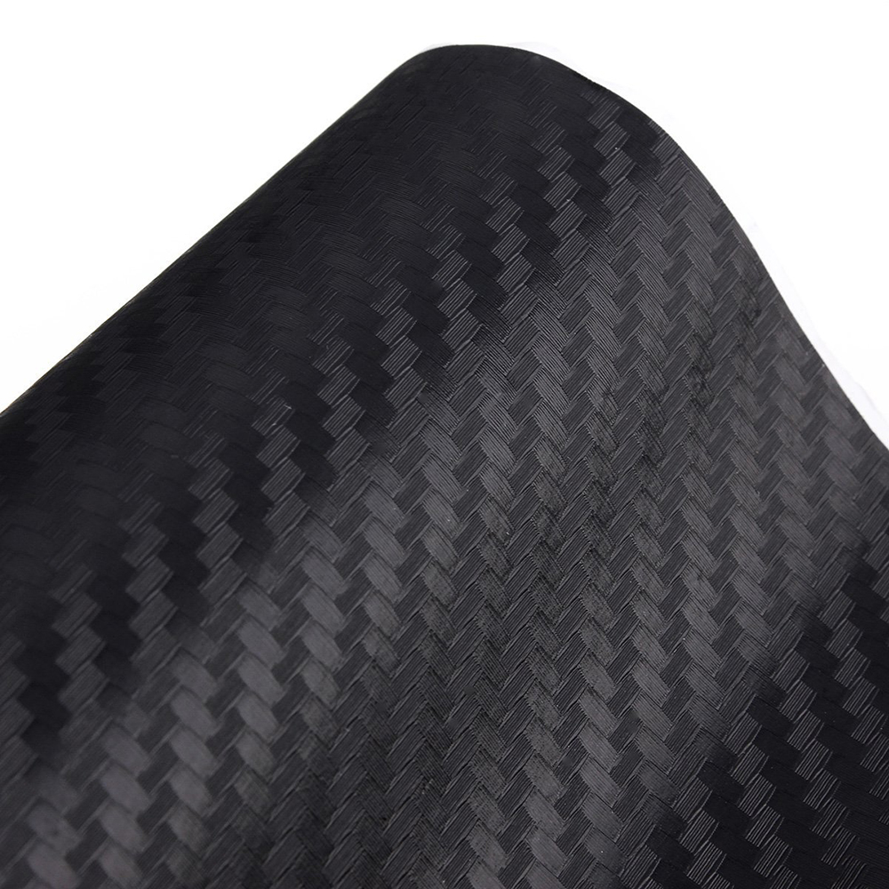 Black 3D Carbon Fiber Vinyl  Self-adhesive DIY Vinyl Roll Wrap Auto Vinyl Film Car Sticker Decal Automotive Vinyl Sheet 1sheet matte surface 3k 100% carbon fiber plate sheet 2mm thickness