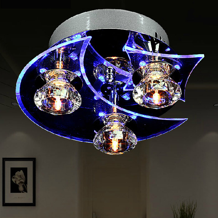 Modern LED Ceiling Lamp 3/4 Heads 110v/220V Indoor Lighting For Home Bedroom Lamp Living Room Lamps Fixtures Lights WCL001 vemma acrylic minimalist modern led ceiling lamps kitchen bathroom bedroom balcony corridor lamp lighting study