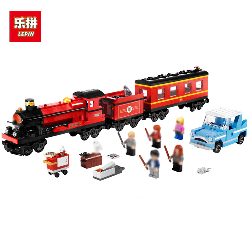 Lepin 16031 Building Blocks 724pcs Hogwarts Express Movies Series Train Compatible Education DIY Bricks Toys Gifts For Children lepin 02010 610pcs city series building blocks rc high speed passenger train education bricks toys for children christmas gifts
