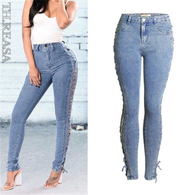 2019 jeans femme avec petits pieds slim jeans femme crayon pantalon sexy jeans mode chaud femme jeans