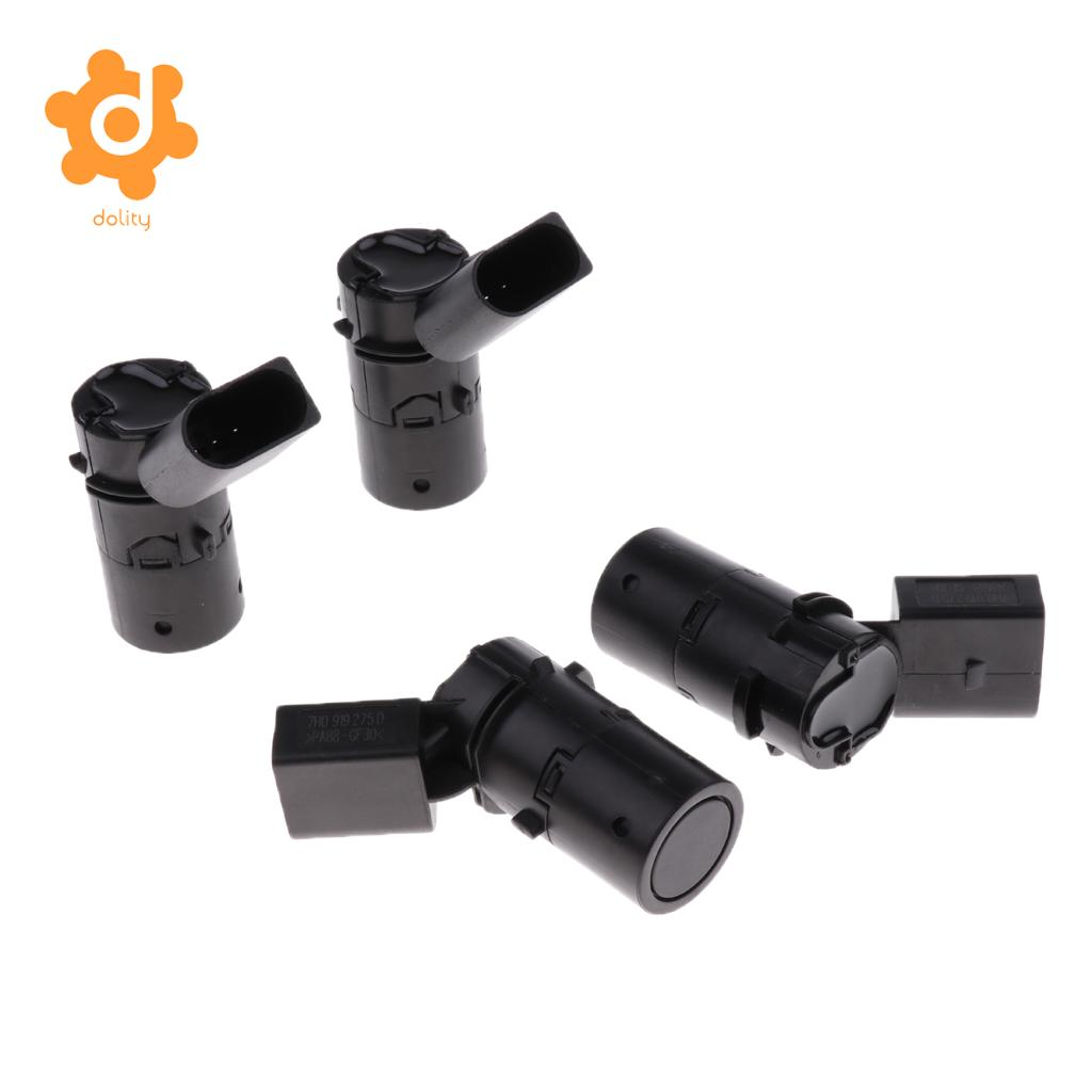 4 Pieces Parking Sensor 7H0919275D For Audi A8 VW Passat