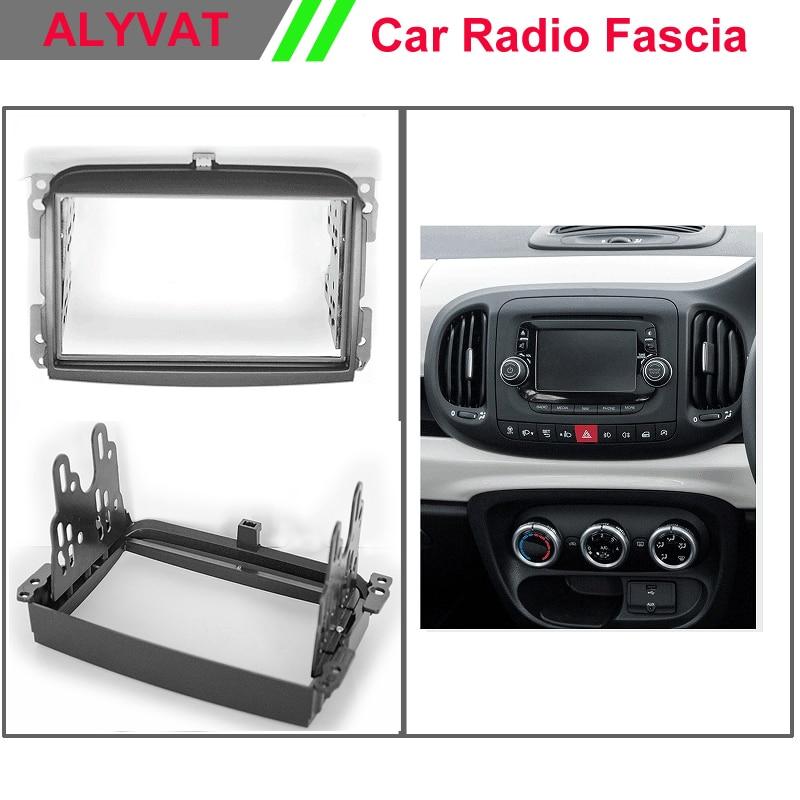 Car Radio Fascia Panel For Fiat 500l  500 L  2012  Stereo