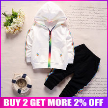 efc7a203e BibiCola bebé niños ropa de otoño conjunto de sudaderas con capucha de  algodón camiseta + Pantalones