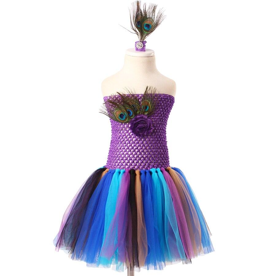 keenomommy princess girls peacock feather tutu dress photo prop