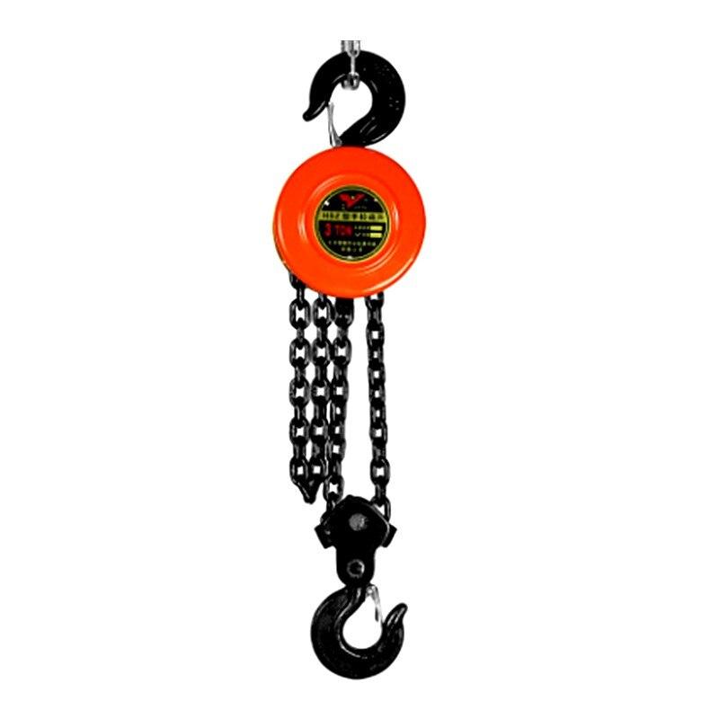 Lifting chain chain hoist 1 ton / 2 ton / 3 ton / 5 ton iron hoist manual small crane