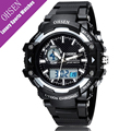 OHSEN Sports Watches For Men Water Resistant 5ATM Multifunction Montre Homme Outdoor Fashion Casual Man Quartz Digital Watch