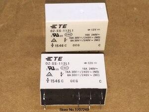 Image 3 - 무료 배송 10 개/몫 100% 새로운 오리지널 oeg 파워 릴레이 OZ SS 112L1 oz ss 112l 12vdc 12 v 16a 8pin